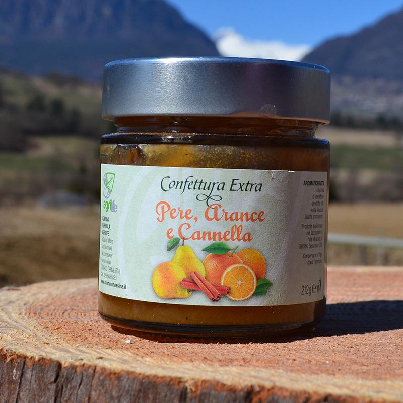Confettura Extra Pere Arance e Cannella